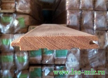 Вагонка штиль из лиственницы